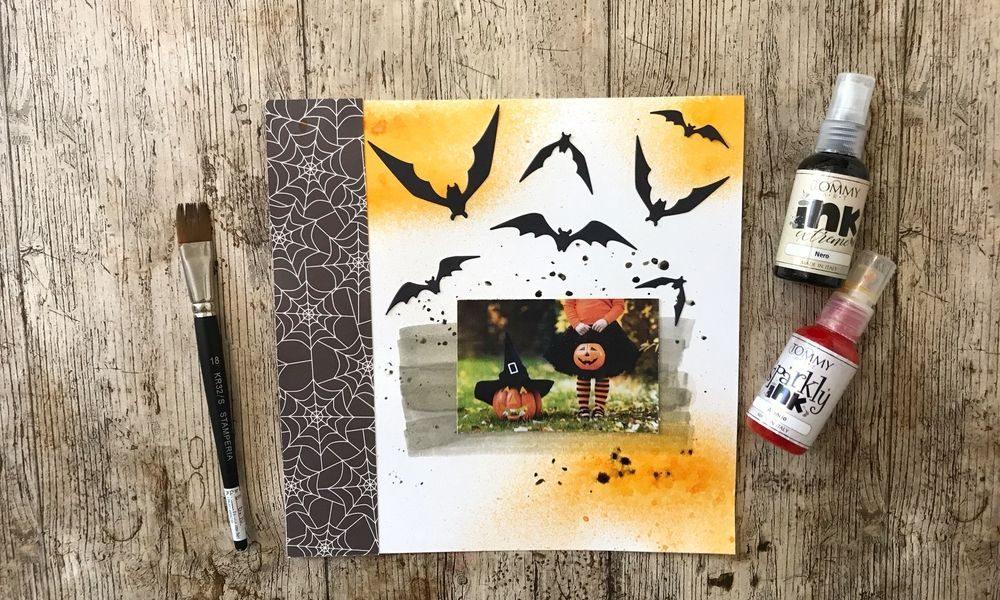 Tutorial Scrapbooking Halloween