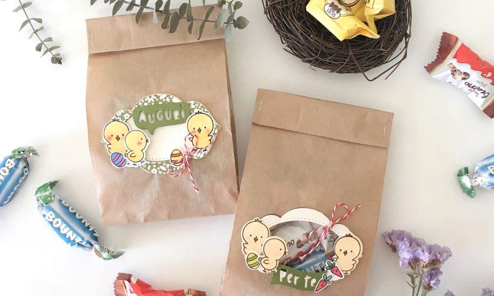 DIY Sacchetti per Ovetti Pasqua