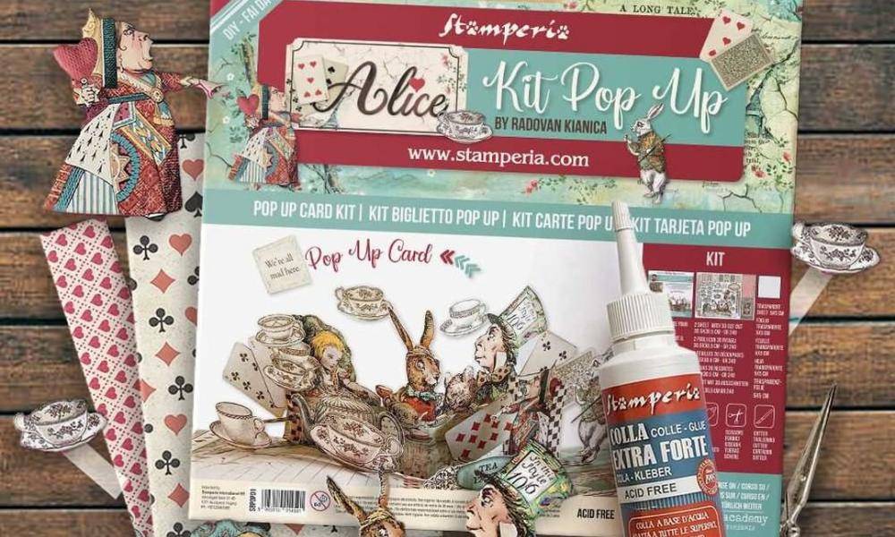 Dove Comprare Pop Up Card Kit Stamperia