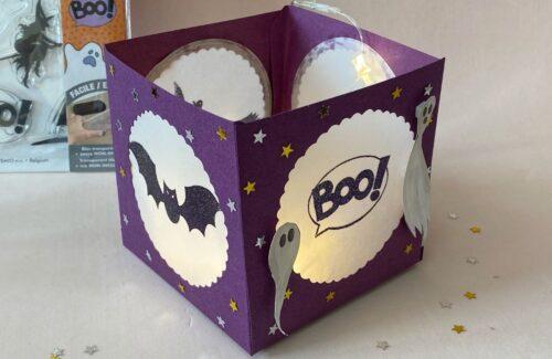 Lanterna di Halloween Scrapbooking
